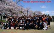 Du học Nhật Bản vừa học vừa làm tháng 4 2018 với nhiều ưu điểm
