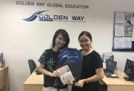 Niềm vui nhận Visa du học Võ Thị Thùy Trang - Đại học RMIT