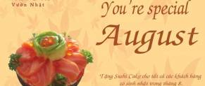 YOU'RE SPECIAL AUGUST