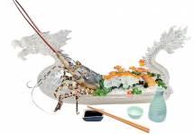 Sashimi tôm hùm