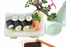 Sushi cuốn dưa chuột