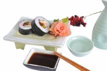 Cơm sushi cuốn tổng hợp