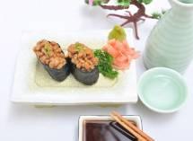 Cơm sushi cuộn đậu tương