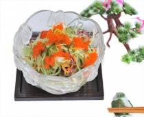 Salad trứng cua rong biển