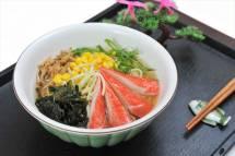 Mì Udon với thịt cua