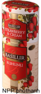 trà Basilur Strawberry & cream