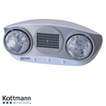 Đèn sưởi Kottmann K2B-HW-S (thổi gió nóng)