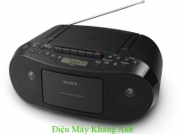 Máy phát CD/ Băng/ Radio (màu Đen)