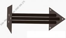 Giá loa tam giác 50cm