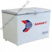 Tủ đông sanaky Vh-668w (2 ngăn, 1 lạnh, 1 mát)