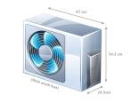 Điều hòa Panasonic inverter 2 chiều CU/CS-YZ12SKH -8