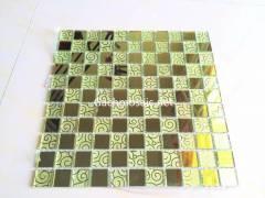 Mosaic vàng gold hoa văn