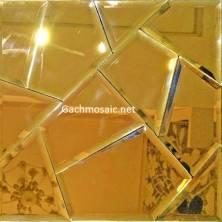 Gạch mosaic cao cấp vàng nứt