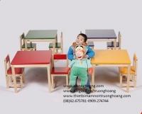 bàn ghế cho trẻ mẫu giáo 02