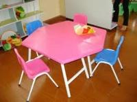 bàn ghế học sinh mẫu giáo 01