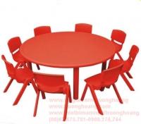 bàn ghế học sinh mẫu giáo 06