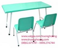 bàn ghế học sinh mẫu giáo 08
