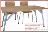 Bàn ghế mẫu giáo bằng gỗ