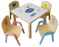 Bàn ghế mẫu giáo bằng gỗ hcm