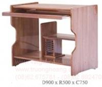 Bàn ghế máy vi tính gỗ tự nhiên 04