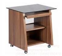 Bàn ghế máy vi tính gỗ tự nhiên 01