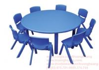 Bàn ghế mầm non composite 06
