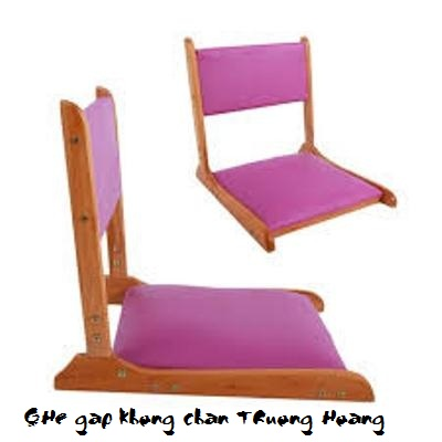 Ghế gấp không chân pisu 01
