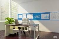 Bảng ghim treo tường dùng cho văn phòng và trường học 02