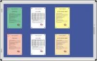 Bảng ghim khung nhôm dành cho văn phòng,trường học 01