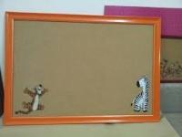 Bảng ghim gỗ bần treo tường dành cho văn phòng giá rẻ 03
