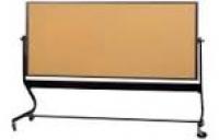 Bảng ghim gỗ bần có khung chân di động giá rẻ tai tphcm 02