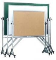 Bảng ghim gỗ bần có khung chân di động giá rẻ tai tphcm 03