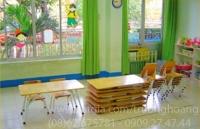 Bàn học gỗ cho bé mầm non mẫu giáo giá rẻ nhất tại hcm,tphcm,hà nội