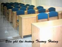 Báo giá bàn ghế gỗ hội trường giá rẻ cho các hội nghị