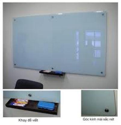 Bảng kiếng văn phòng kích thước 1200x3500mm