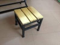 Bàn ghế cà phê bằng gỗ