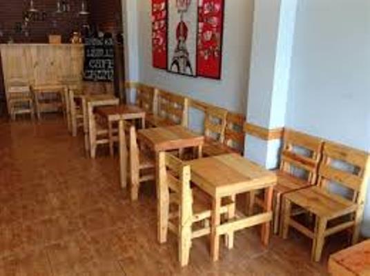 bàn ghế quán café