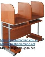 Bàn lab học sinh khung sắt,gỗ công nghiệp 05