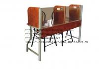Bàn lab học sinh khung sắt,gỗ công nghiệp 10
