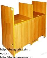 Bàn lab học sinh gỗ công nghiệp 02