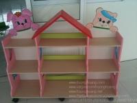 Kệ tủ mầm non 3 tầng 2 hông TH-K3T2H03