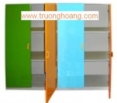 Kệ tủ mầm non đựng chăn màn chiếu gối TH-KCCG02