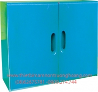 Kệ tủ mầm non đựng chăn màn chiếu gối TH-KCCG03