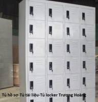 Tủ hồ sơ di động | tu tai lieu van phong gia re tai HCM (locker 12 ô)
