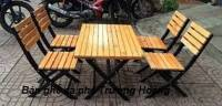 Bàn ghế gỗ café, bàn ghế gỗ, bàn ghế cà phê, bàn ghế café, bàn ghế cà phê gỗ