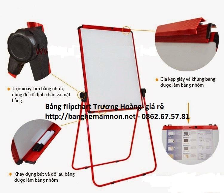 Bảng hội thảo silicol FB66 - kích thước 60x90cm chân sắt sơn tĩnh điện