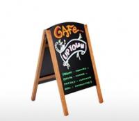 Bảng viết menu khung gỗ kích thước 550 x 800 mm