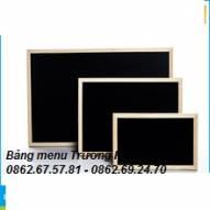 Bảng gỗ đen - bảng menu đen - bảng ghi menu - bảng đen ghi menu giá rẻ
