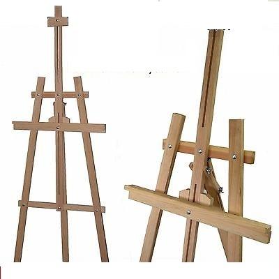 Giá vẽ gỗ 3 chân chữ A - giá vẽ 01