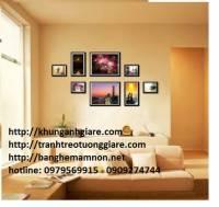 Khung hình online-khung hình handmade-khung hình a4-khung hình a3